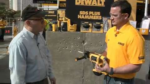 DeWalt D25052K and D25413K Rotary Hammers