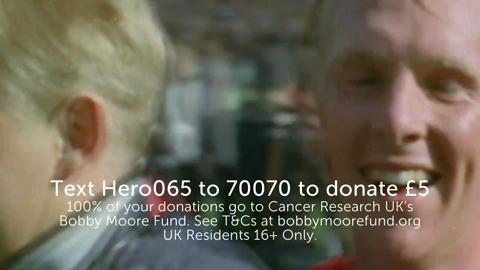 The Bobby Moore Fund | A tribute to Bobby Moore | Cancer Research UK
