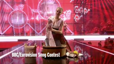 Eurovision Song Contest 2014 - Poland entry cleans up with sexy wash routine