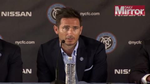 Frank Lampard starts new life as a New York City FC player