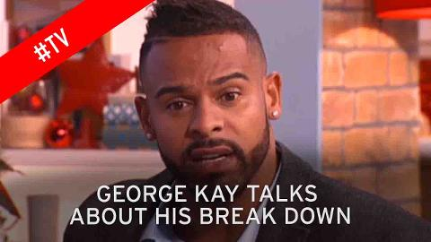 Kerry Katona and George on This Morning speaking about George's mental illness