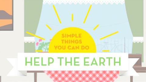 Simple Things You Can Do to Save The Earth