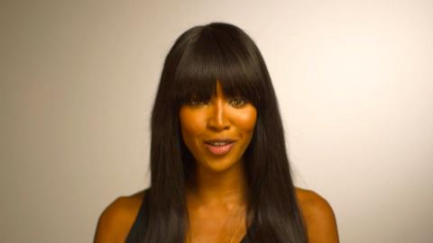 Naomi Campbell in support of Mandela Day