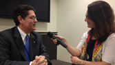 Interview with Rubens Amaral, CEO of Bladex - View from IADB 2013