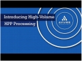 Introducing High-Volume HPP Processing