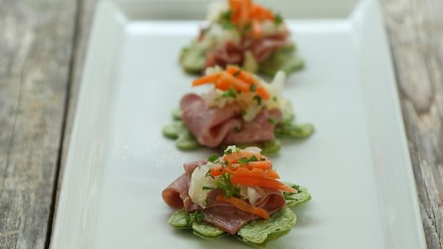 See How To Make Corned Beef & Cabbage Appetizers
