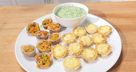 Watch: Easy Appetizer Ideas!