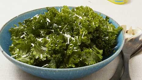 Watch us make a massaged raw kale salad