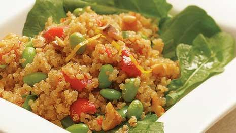 Learn to make an easy quinoa salad