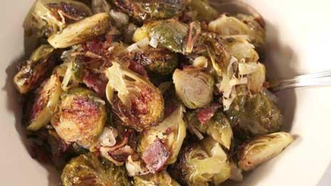 See how to make roasted Brussels sprouts!