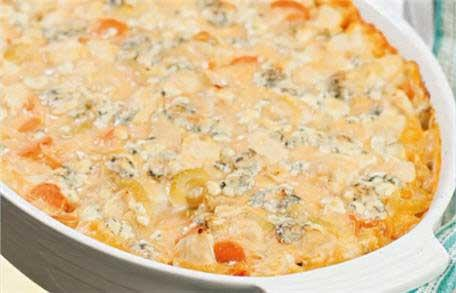 See How to Make Healthy Buffalo Chicken Casserole