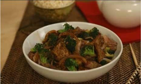 How to make Chinese beef & broccoli