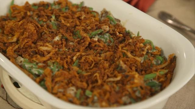 See our healthy green bean casserole