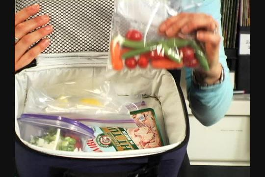 See how to build a healthy lunchbox