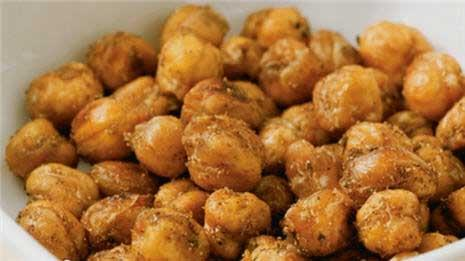 "Learn to make baked chickpea ""nuts"""