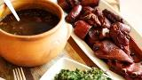 Feijoada - Traditional Brazilian black bean and meat stew