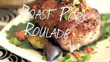 Roast pork roulade