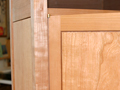 Learn how to make a square, stable door that fits perfectly in the case.