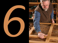 """Besides a couple of push-ups, Lowe finds that the process of woodworking provides pretty good exercise. His biggest advice is to just keep active... """"If you stop, you rust"""""""