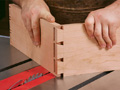 Learn furnituremaker Gregory Paolini's simple techniques for tablesawn through-dovetails. Plus, a trick for half-blinds too.