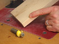 Woodworker Gregory Paolini demonstrates techniques for adding a soft, gentle roundover to otherwise sharp furniture parts.