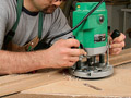 Learn how to craft a router template that yields consistent, accurate through-mortises.