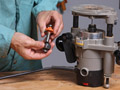 Learn the right way to install a router bit for safer woodworking.