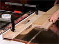 Build a simple tablesaw fence accessory that handles a wide variety of joinery cuts