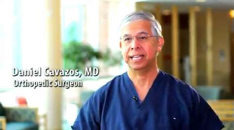 Dr. Daniel Cavazos, Orthopedic Surgeon