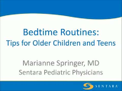 Bedtime Routines: Tips for Older Children and Teens