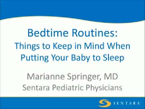 Bedtime Routines: A Good Night's Sleep for You and Your Baby