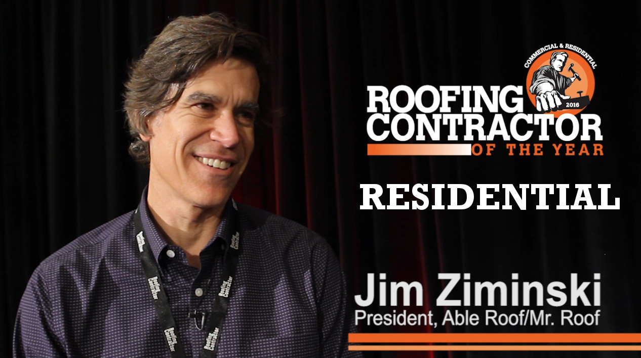 Lovely 2016 Residential Roofing Contractor Of The Year: Able Roof, Mr. Roof |  2016 11 03 | Roofing Contractor