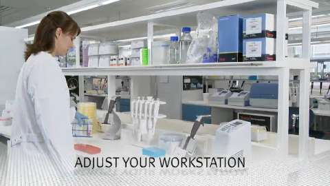 This video presents the tips and tools for the ergonomic pipetting work.