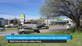 Police investigating northeast Oklahoma City homicide Friday