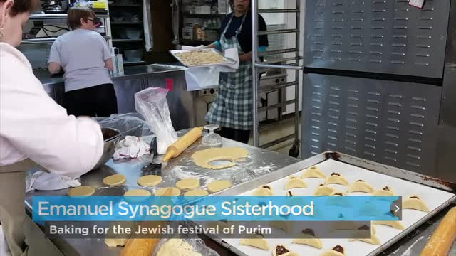 Baking for Purim
