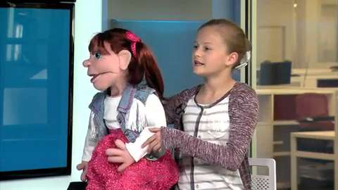"Darci Farmer appears on NBC's ""Little Big Shots"""