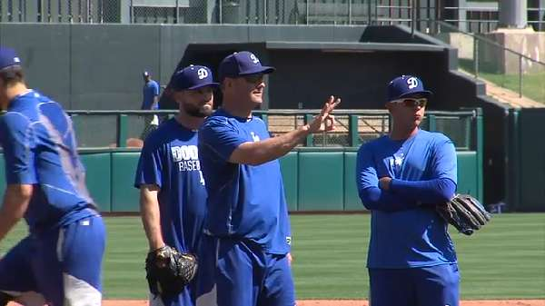 OKC Dodgers manager Bill Haselman talks opening day