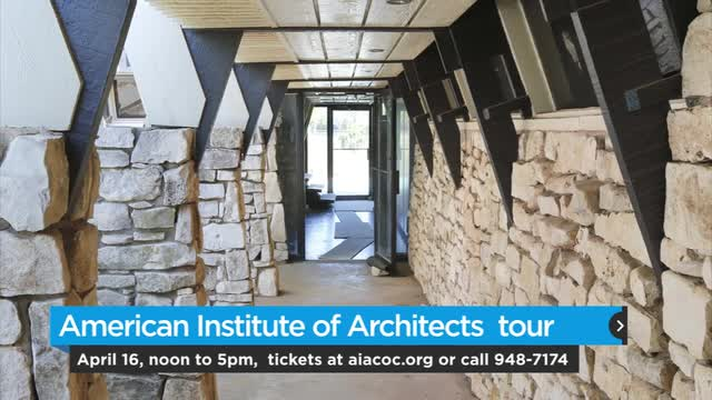 Architecture Tour has 9 stops including the Krogstad house