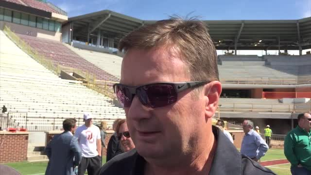 OU Update - Stoops on satellite camps
