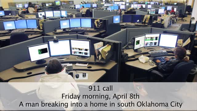 Dispatcher calms frightened sisters during home invasion