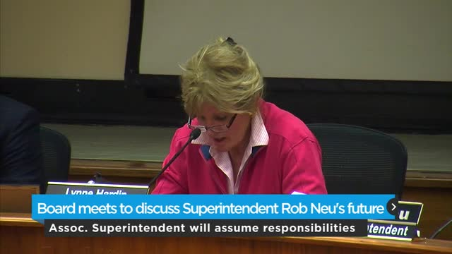 OKC board meets to discuss Neu's future