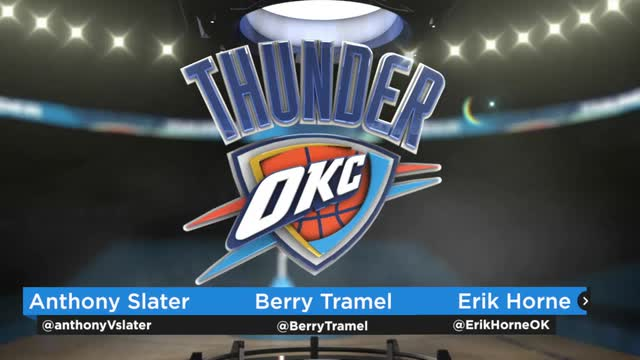 Thunder Buddies, Thunder-Mavs Game 1 recap