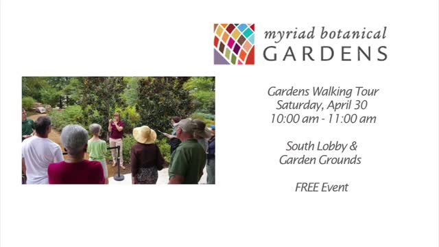 Myriad Gardens: Bees, Earth Day and the Jungle Book