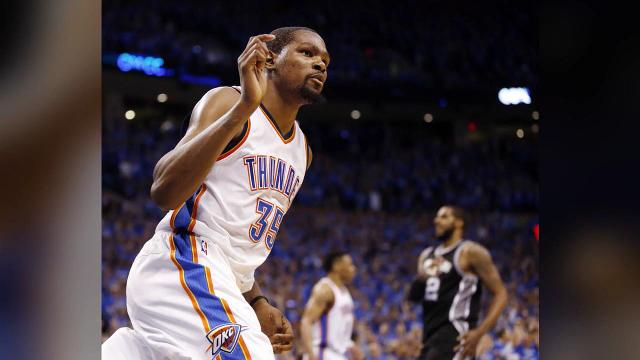 Thunder close out the Spurs