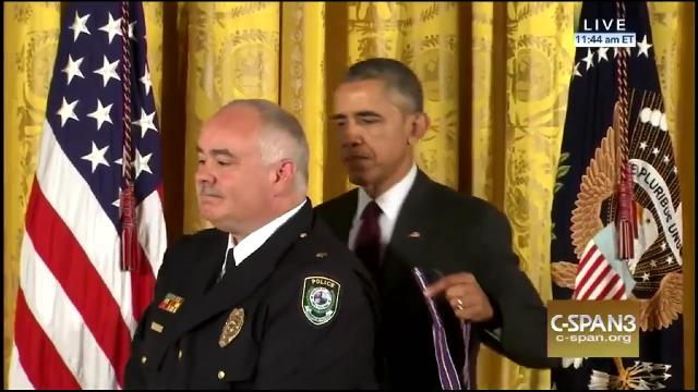Midwest City officer awarded Medal of Valor