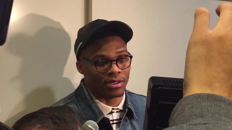 Westbrook on cheering, booing Durant