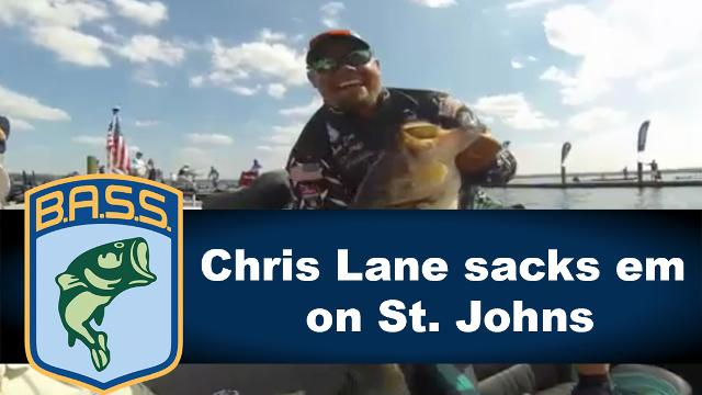 Chris Lane Shows Off A Monster Bag At The St Johns River