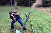 Russian 82mm Mortar Fail
