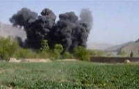 F-16 Hits Taliban with 2 500lb JDAMs