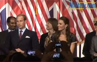 Prince William Speaks to Vet's at Job Fair